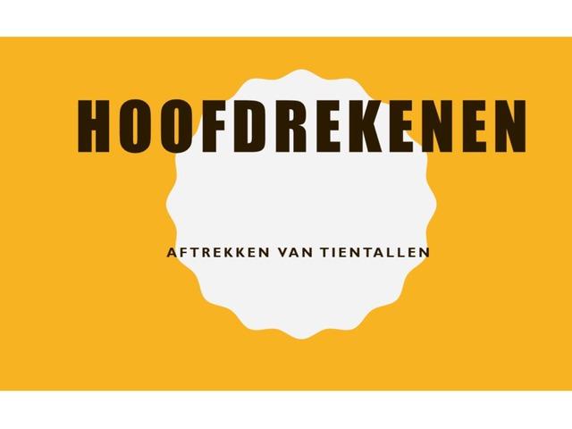 Aftrekken Van Tientallen by Stefanie Rigolle