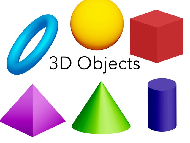 3D Objects by Sonia Landers