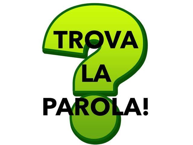 Trova La Parole by Paola Mazzi