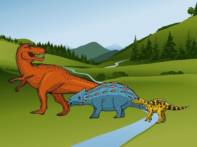Dino's For J! by Angela Bucci