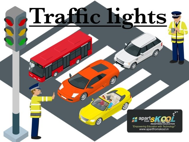 Traffic Lights by TinyTap creator