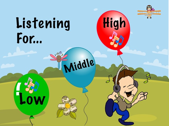 Listening For High, Middle And Low by A. DePasquale