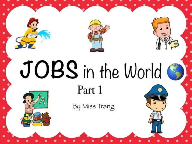 Jobs Vocabulary  by Trang Quỳnh