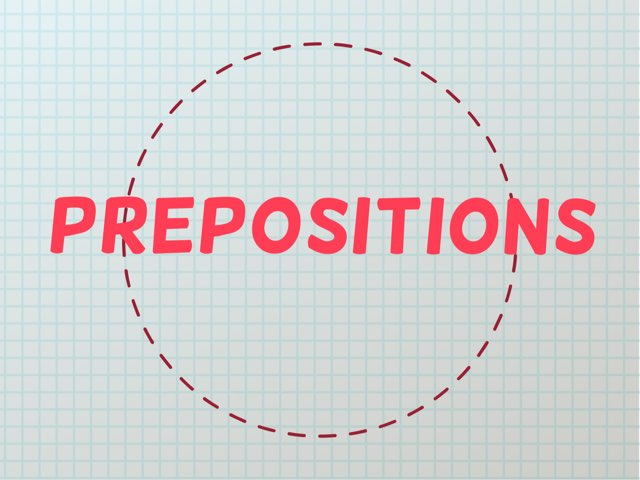 Prepositions  by Jack Grossman