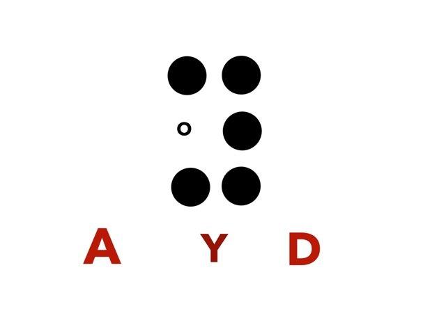 Dylan Name In Braille by lynn Loeffler