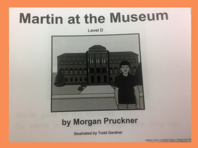 November Lesson 1 Reading Of Martin At The Museum  by Tanya Folmsbee