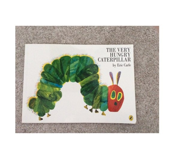 The Very Hungry Caterpillar  by Little Treasures Nursery