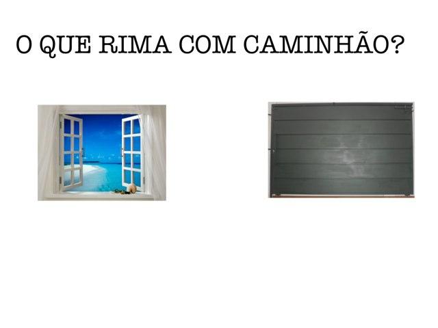 F-1MA2 - JOGO DA RIMA by TecEduc Porto