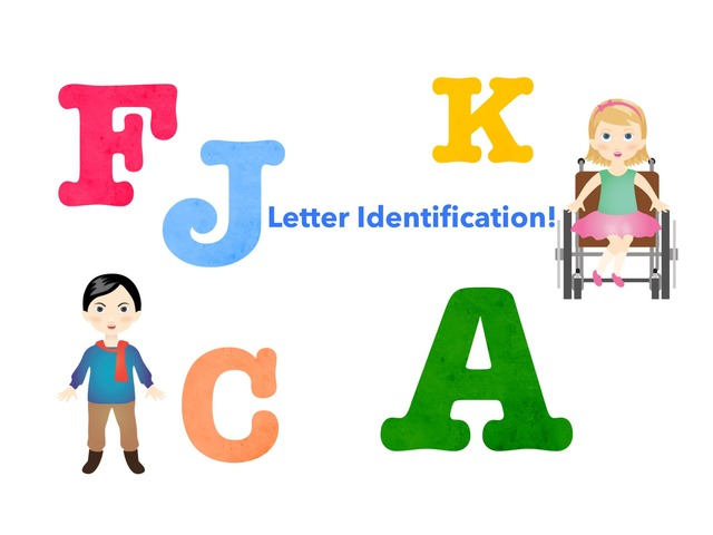 Uppercase Letter Identification Vol.1 by Jennifer Cunningham