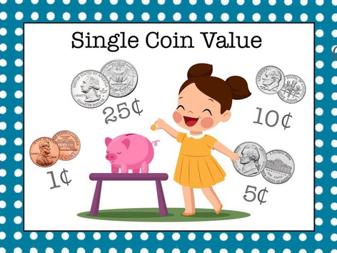 Money 2 - Single Coin Value by Cici Lampe