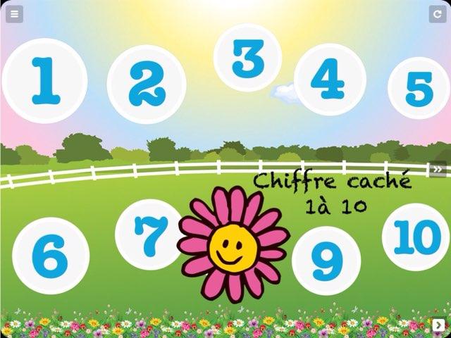 Chiffre caché de 1 à 10 by Emmanuelle Botta