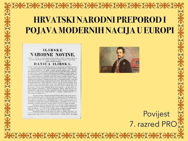 HRVATSKI NARODNI PREPOROD by Sanja Koroman