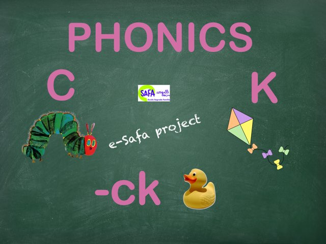PHONICS C, K, -CK by IE Londres c/urgell