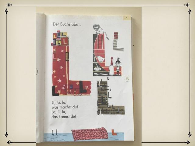 der Buchstabe L by Véronique Wahl