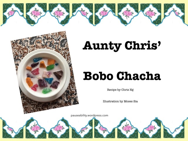 Bobo Chacha Recipe by Moses Sia