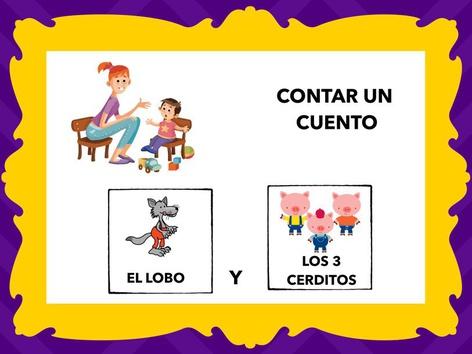 Cuento: Los Tres Cerditos Y El Lobo. Con Voz by Francisca Sánchez Martínez