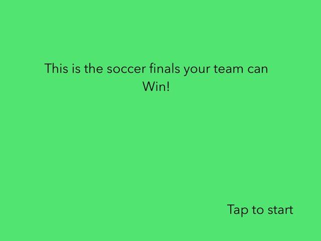 Soccer  by 3JK iPad