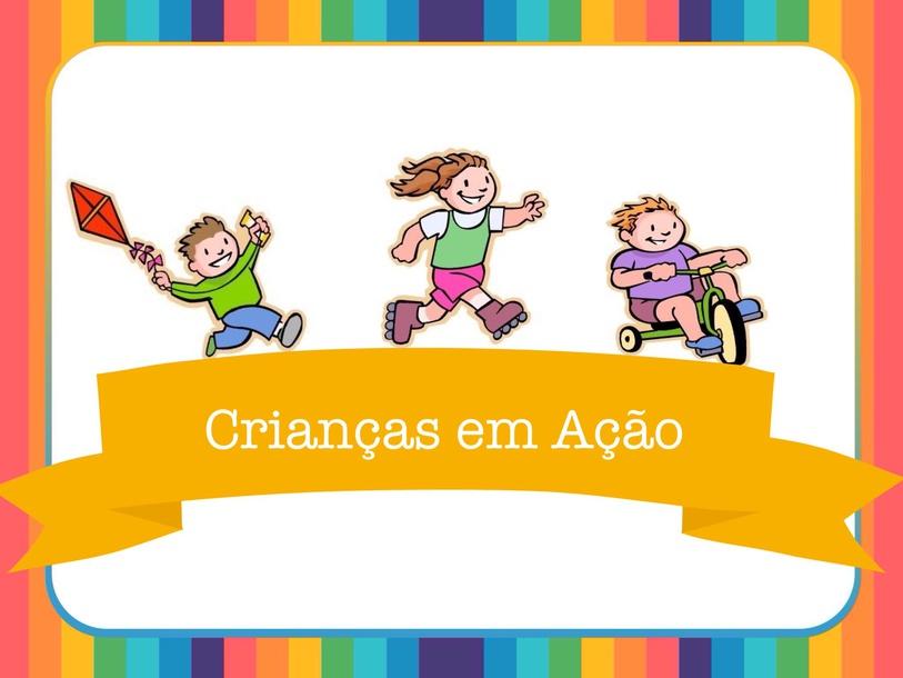 Crianças em ação  by Paula  Sacomano