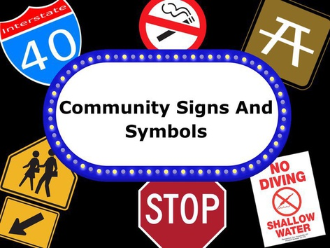 Community Signs And Symbols(1) by Kate Nelson