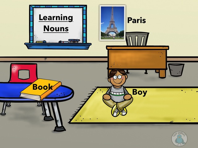 Learning Nouns by Jasmine  Crawford
