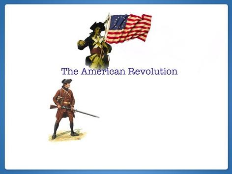 American Revolution by Jennifer Cunningham