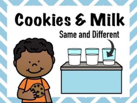 Cookies & Milk - Comparing by Cici Lampe