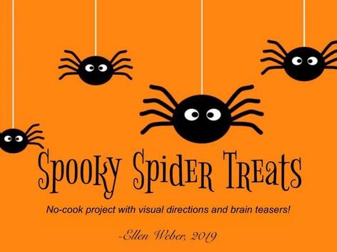 Spooky Spider Treats by Ellen Weber