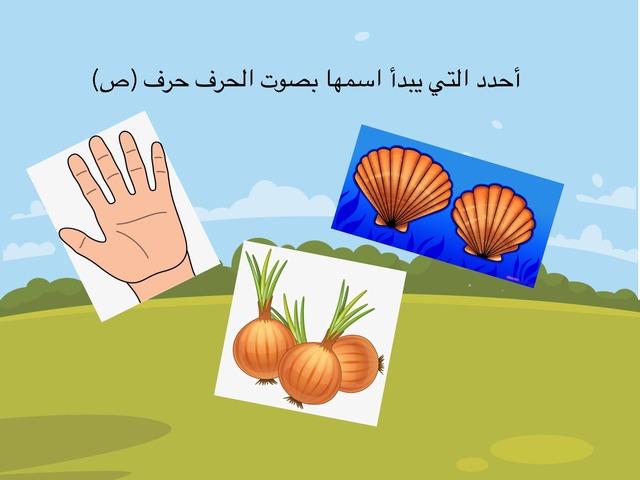 تحديد حرف ص  by Fatema Rabaa
