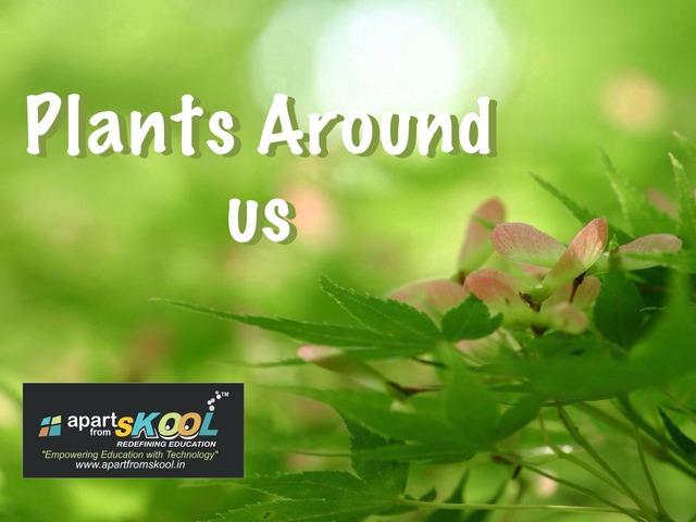Plants Around Us by TinyTap creator