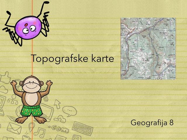 Topografske karte  by Sanja