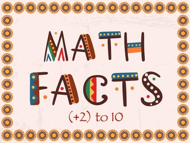Math Facts +2  by Jennifer