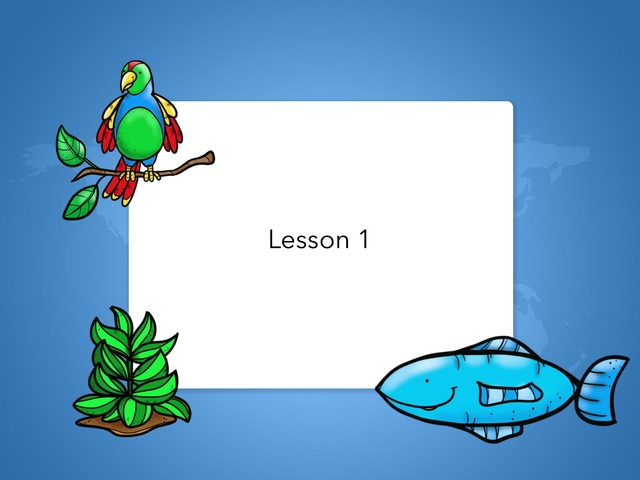 K lesson 1 by Teresa Wang