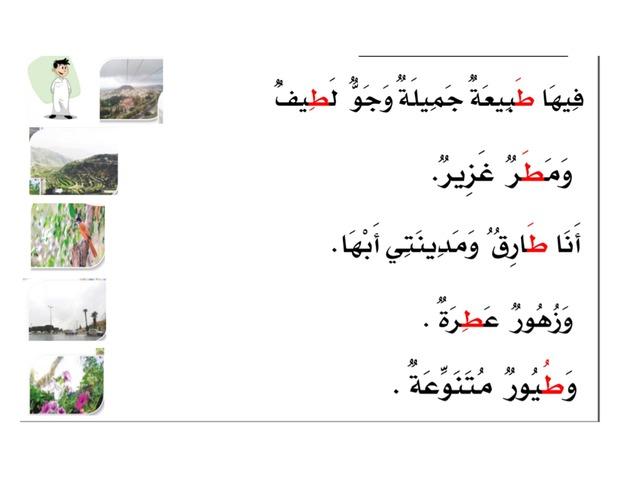 جمل حرف الطاء by / أم هيثم