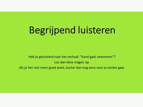 Verwerking Luisterverhaal: Karel Gaat Zwemmen by Bieke Santy