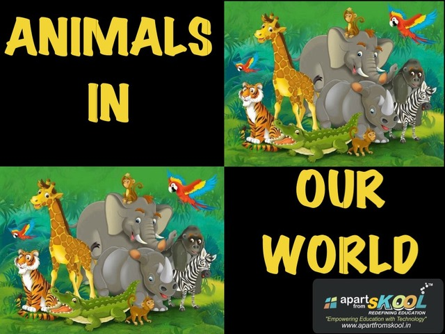Animals In Our World by TinyTap creator