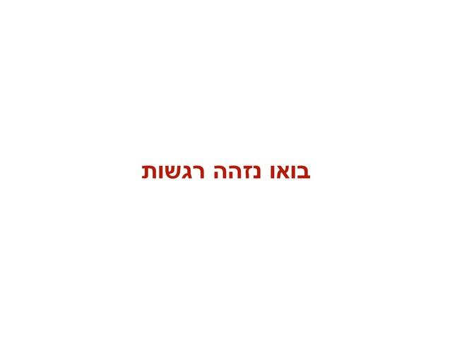 רגשות by Irit Baran