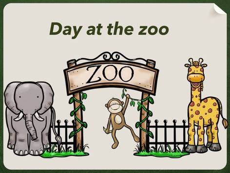 Day At The Zoo by Kathy Gordon