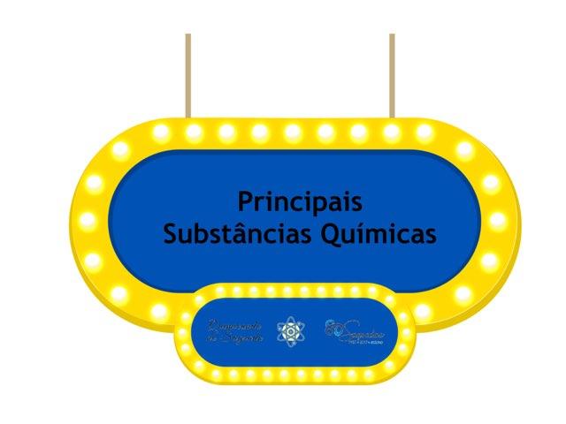 Principais Substâncias Químicas  by Gustavo Pohl