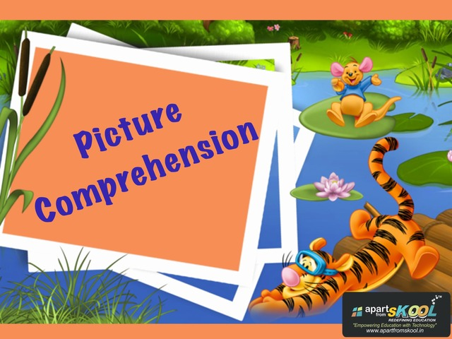 Picture Comprehension by TinyTap creator