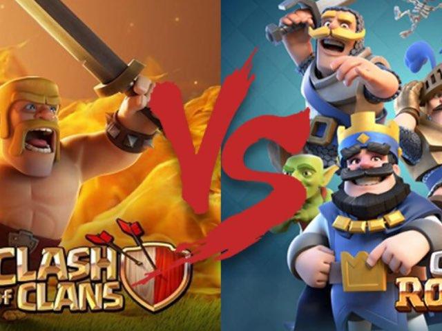 Clash Royale VS Clash Of Clans by Ibon Rebelo
