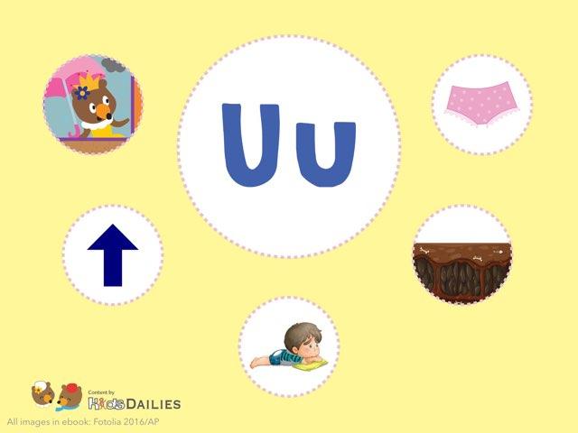 Uu  by Kids Dailies