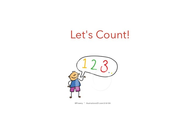 Counting 1-5 by Amy Petrilla