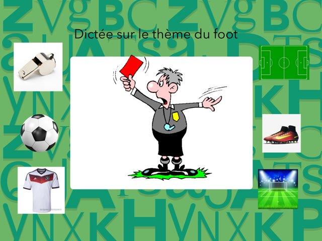Dictée Thème Foot by Virginie Kaiser