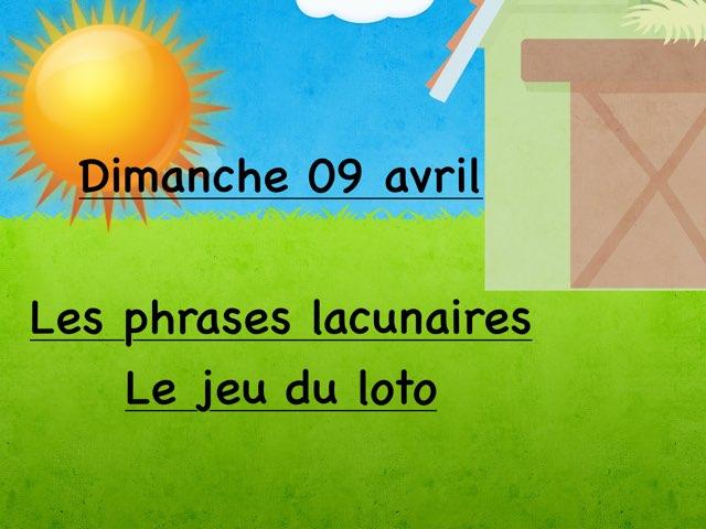 L - Dim09 - Phrases Et Loto  by Caroline Gozdek