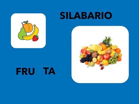 Silabario. Fruta by Francisca Sánchez Martínez