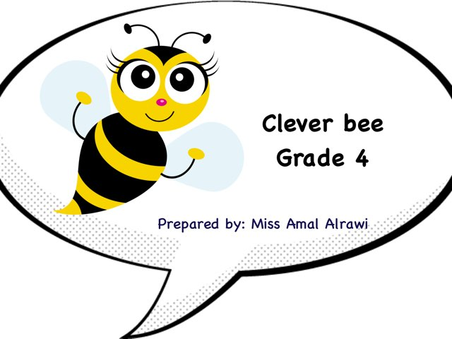 Clever Bee. by Amal kuwait