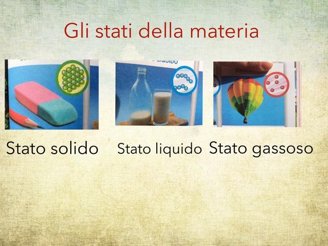 LA MATERIA- SCIENZE by Rosalino Rinaldi