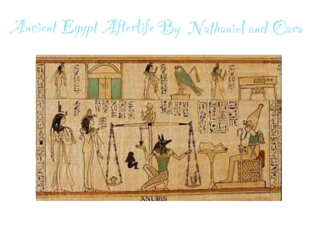 Ancient Egyptian Afterlife Game By Nathaniel And Cara by St Cecilias