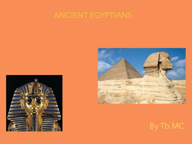 Ancient Egyptians  by Dave Ravenscroft