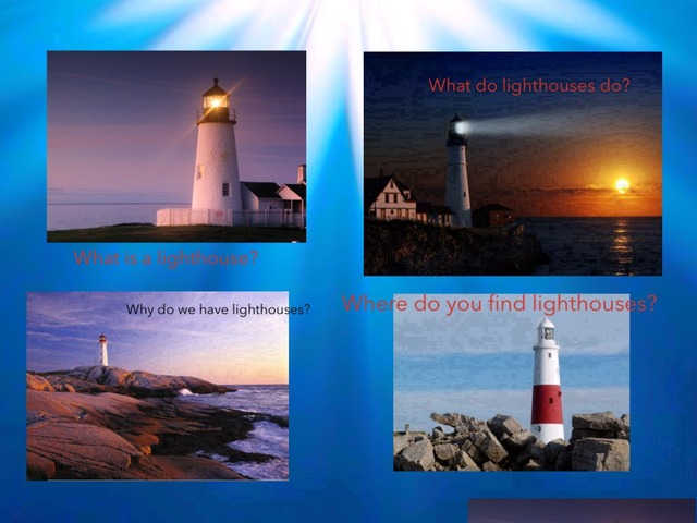 Lighthouses by Jane carter